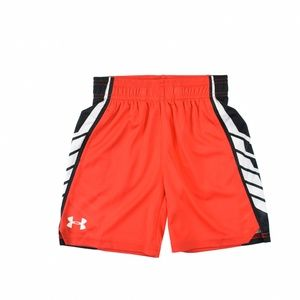 Under Armour Little Boys Basketball Shorts Red